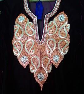 Tilla work, zari kari, hand zari kari, kashmir embroideries, kashmir artisans, artisans, artisan stories, artisan diaries,