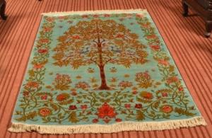 Kashmiri carpets, carpets of kashmir, kashmir carpets, silk carpets, handmade carpets, cotton carpets, silk on silk carpets, traditional carpets of kashmir, history of kashmir carpets, carpet terminology, traditional carpet designs, online carpets of kashmir, kashmir carpet designs, traditional designs, carpet motifs, carpet names , tree of life, ferozi, ferozi tree of life
