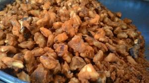 Kashmir street food, kashmir food, street food kashmir, kashmir snacks, gaer gojje, water chestnut, chestnut,