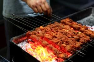 tujje, smoked meat, kashmir barbecue,kashmir street food, kashmir food, street food kashmir, kashmir snacks,